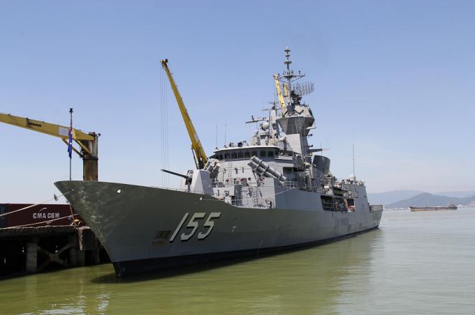 Tàu HMAS Ballarat là một tàu hộ về trang bị tên lửa tự dẫn lớp ANZAC có chức năng phòng không, chống ngầm và tác chiến mặt nước, do thám, ngăn chặn và trinh sát.