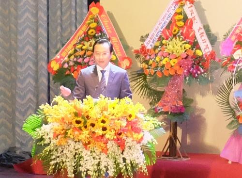 Bí thư Thành ủy Đà Nẵng Nguyễn Xuân Anh phát biểu. Ảnh: danang.gov.vn