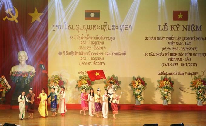 TP Đà Nẵng có mối quan hệ hợp tác với nhiều địa phương của Lào.