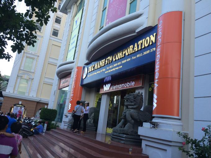 Trụ sở liên doanh DMC-579 tại tòa nhà Vĩnh Trung Plaza, TP Đà Nẵng.