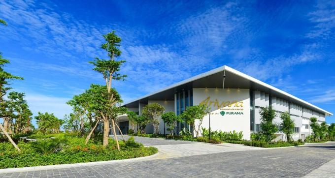 Trung tâm hội nghị Ariyana phục vụ Tuần lễ cấp cao APEC 2017.