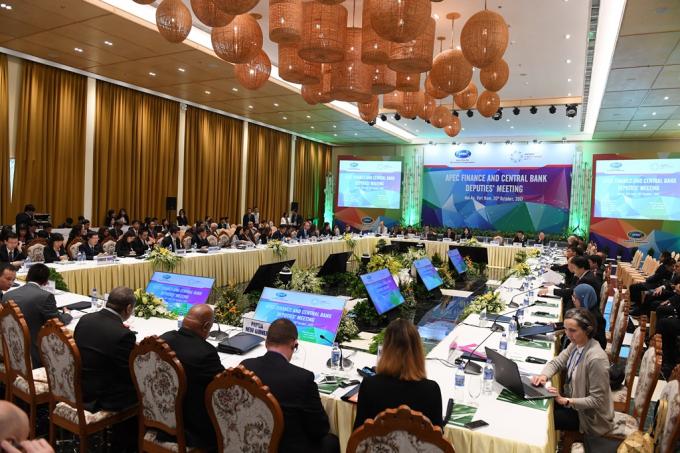 Toàn cảnhHội nghị Bộ trưởng Tài chính APEC 2017, Hội nghị Thứ trưởng Tài chính và Phó Thống đốc Ngân hàng Trung ương APEC.