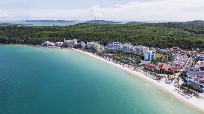 Hình ảnh toàn cảnh củaJW Marriott Phu Quoc Emerald Bay.