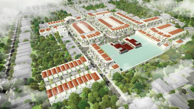 Dự án Khu phố chợ Điện Nam Bắc đạt mức thanh khoản 100%.
