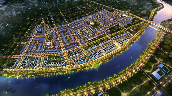 Dự án River View giai đoạn 2 thu hút sự quan tâm của nhà đầu tư.