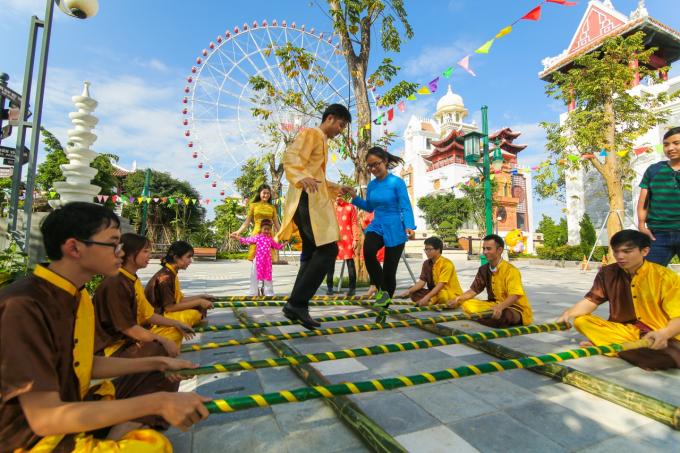 Kết quả hình ảnh cho sun world danang wonders lễ hội hoa 2018
