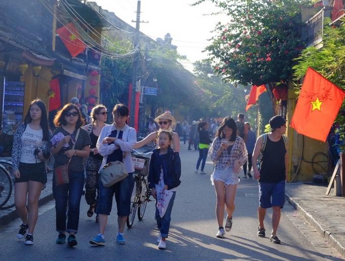 Miễn phí vé tham quan phố cổ Hội An từ 15 đến 18/2. Ảnh: quangnam.gov.vn.