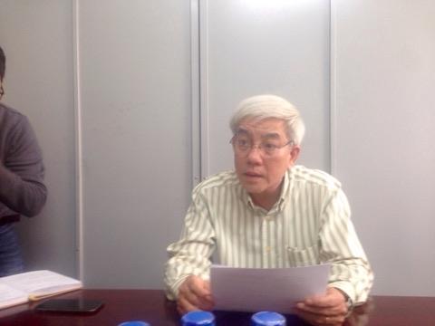 Ông Nguyễn Nho Hậu - Phó Chi cục QLTT TP Đà Nẵng chia sẻ về sai phạm của nhà hàng Siêu Hấp.