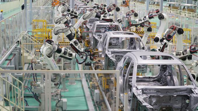 Nhà máy được đầu tư các dây chuyền, thiết bị hiện đại, tự động hóa và công nghệ mới nhất.