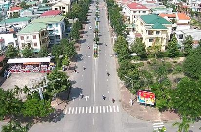 Quảng Ngãi đẩy nhanh tiến độ thực hiện các dự án khu dân cư. Ảnh: Báo Quảng Ngãi.