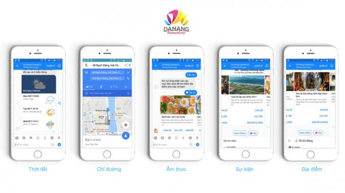 Ứng dụng Chatbot phục vụ du lịch ra mắt trớc DIFF 2018.