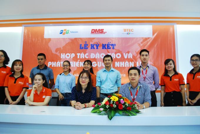 BTEC FPT Đà Nẵng hợp tác phát triển nguồn nhân lựccho doanh nghiệp.