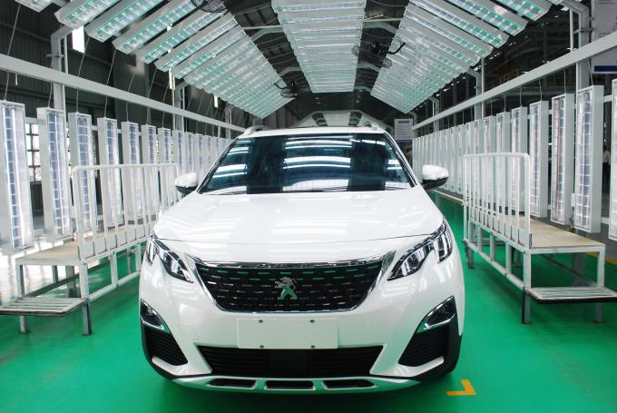 Xưởng sản xuất thương hiệu xe Peugeot của THACO.