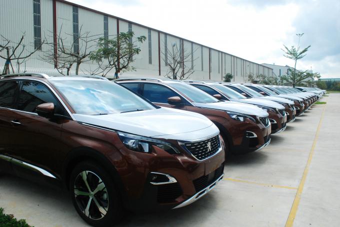Về phân phối và bán lẻ ô tô, THACO đề ra chỉ tiêu doanh số tối thiểu năm2019 là110.000 xe.