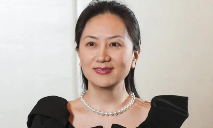 BàSabrina Mạnh Vãn Châu. Ảnh: SCMP