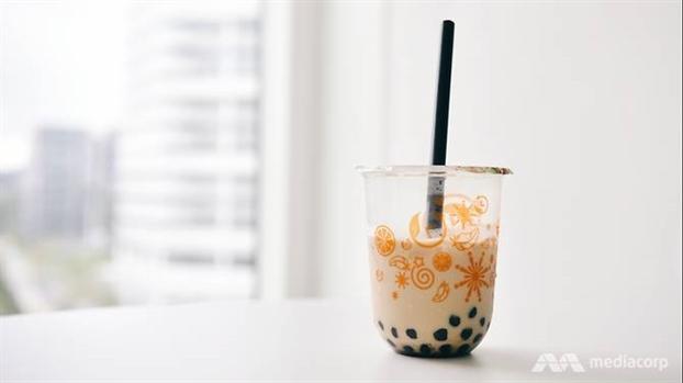 Ly trà sữa trân châu được cho là chứa lượng đường rất lớn, có hại cho sức khỏe, mà ít người nhận ra - Ảnh: Marcus Mark Ramos