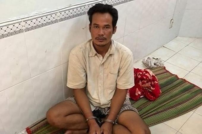 Đối tượng Thạch Sà Khêl - nghi can truy sát khiến 12 người thương vong xảy ra tại ấp Đay Tà Ni, xã Hưng Hội, huyện Vĩnh Lợi, tỉnh Bạc Liêu.