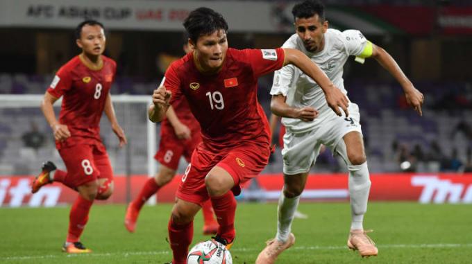 Quang Hải và các đồng đội có 3 điểm đầu tiên ở Asian cup
