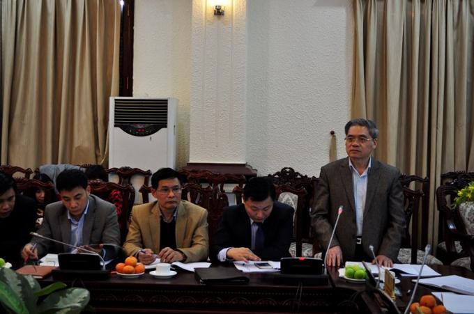 Chuyên gia cao cấp Đinh Trung Tụng – nguyên Thứ trưởng Bộ Tư pháp phát biểu.
