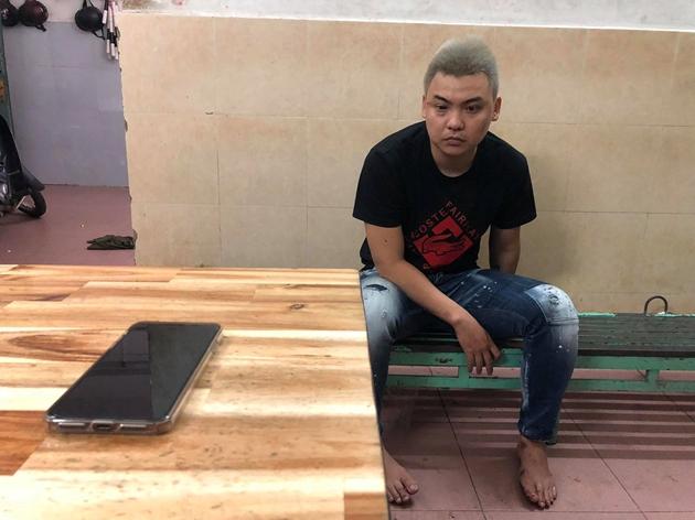 Đối tượng Nhân cướp giật tài sản du khách nước ngoài vừa bị bắt giữ.