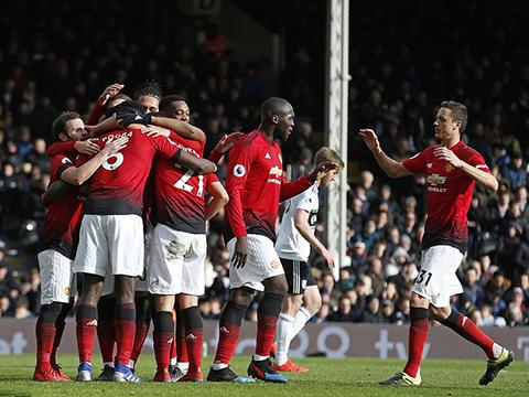 Man United đã quay trở lại Top 4.