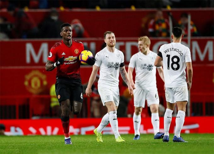Các đội bóng khác sẽ không cho Man United cơ hội vực dậy giống Burnley.
