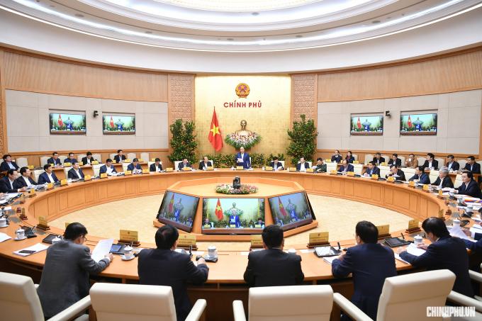 Thủ tướng Nguyễn Xuân Phúc chủ trì phiên họp Chính phủ tháng 1/2019 diễn ra ngay trước kỳ nghỉ Tết Nguyên đán.