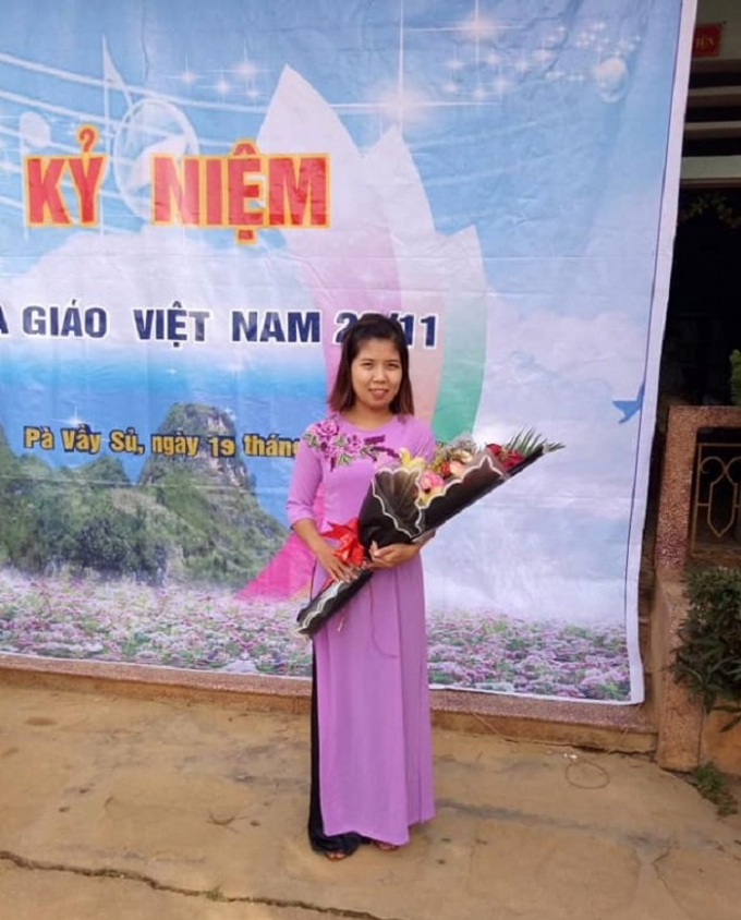 Ra trường, cô giáo trẻ chọn Cốc Pài, Xín Mần, Hà Giang là điểm đến và cô đã gắn bó với mảnh đất này được 10 năm.