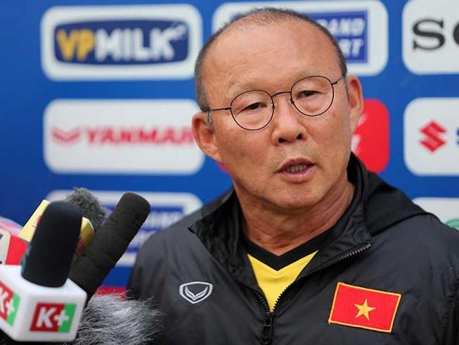 HLV Park Hang-seo sẽ ngồi lại với VFF tính toán cho sân chơi World Cup nếu FIFA thuyết phục được Qatar nâng số đội dự vòng chung kết lên 48 đội.