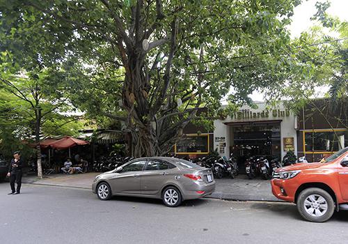 Nhà đất tại 39 đường Pasteur nằm ở trung tâm Đà Nẵng hiện là quán bida và cà phê..