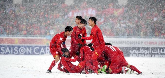 U23 Việt Nam thực sự đáng nể bởi sự tự tin và bản lĩnh sắt đá.
