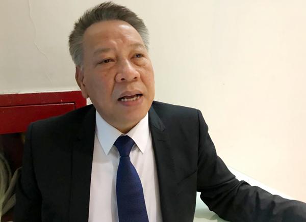 Giám đốc Sở Văn hóa Thể thao Hà Nội Tô Văn Động.