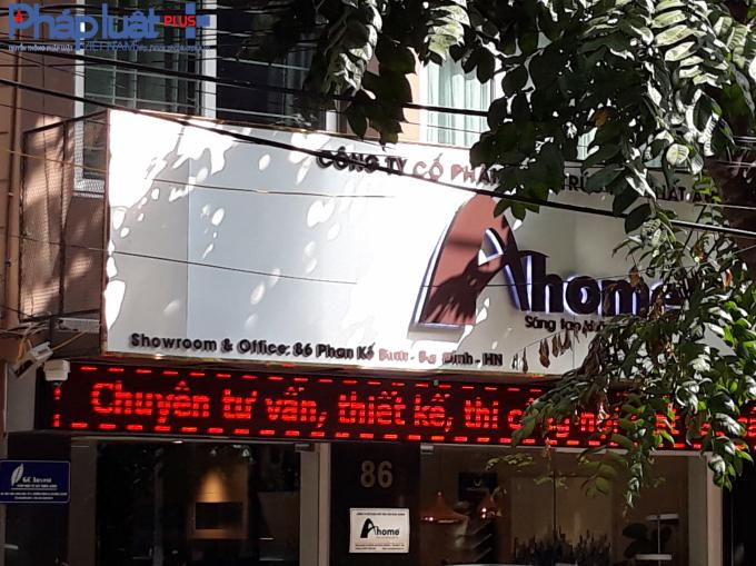 Cách đó vài trăm mét lại có thêm một showroom của Ahome có địa chỉ 86 Phan Kế Bính.