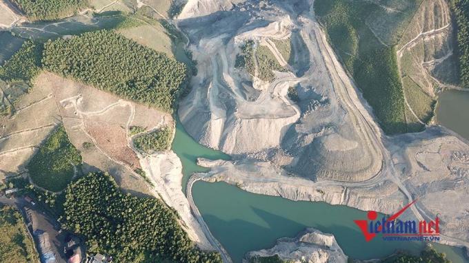 31ha rừng bị đơn vị này phá để khai thác than trái phép.