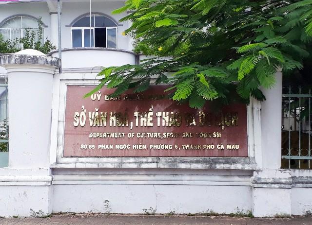 Sở Văn hóa - Thể thao và Du lịch tỉnh Cà Mau (Nguồn: Dân Trí).