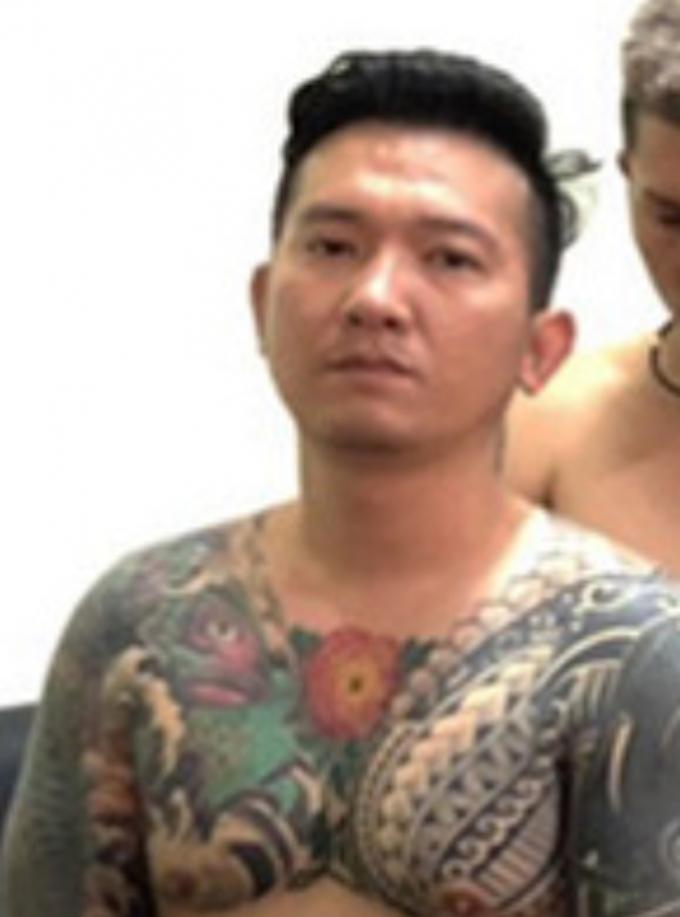 """Lâm Thanh Vũ (tức Vũ """"bông hồng"""")."""