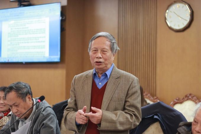Ông Nguyễn Trí, nguyên Phó Vụ trưởng Vụ Giáo viên (Bộ GD-ĐT).