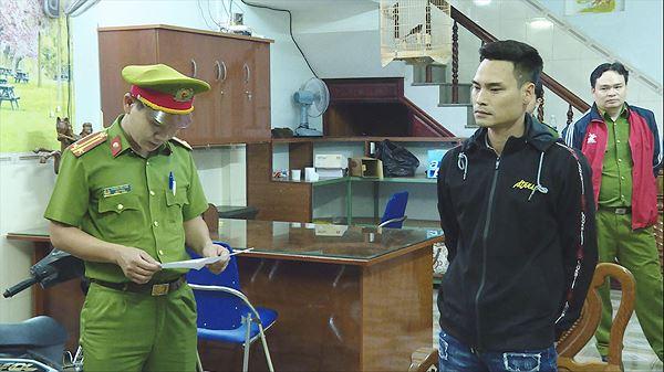 Các đối tượng bị tạm giữ - ảnh Lê Thanh.
