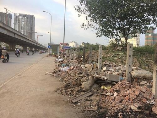 Một lô đất sát đường Nguyễn Xiển bị