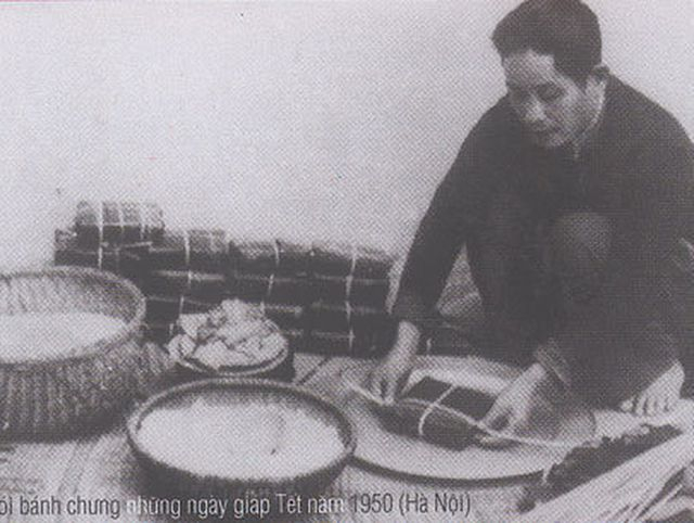 """Nồi bánh chưng được coi là """"linh hồn"""" của Tết Việt. (Ảnh tư liệu)."""