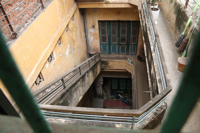 Căn nhà của ông Thái An rộng khoảng 200m2, được xây dựng theo lối kiến trúc Pháp với khoảng hơn 10 phòng.