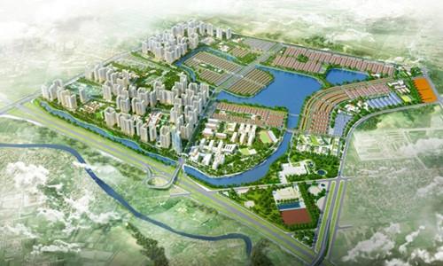 Hà Nội phê quyệt khu đô thị Gia Lâm gần 90.000 người.Ảnh:Tiền phong.