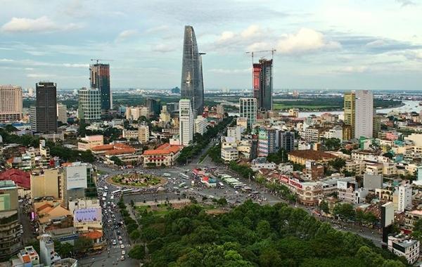 Mục tiêu đến năm 2045, TP Hồ Chí Minh sẽ hoàn thiện hệ thống hạ tầng, phát triển không gian đô thị... Ảnh: TL.