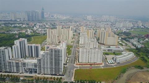 Khu tái định cư Thủ Thiêm, quận 2, TP.HCM hiện thừa hàng ngàn căn hộ.