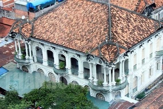 Căn biệt thự cổ tại 110-112 Võ Văn Tần (quận 3, TPHCM). Ảnh: hcmcpv.