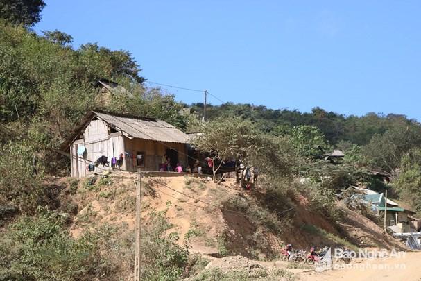 Ngôi nhà của nạn nhân Lữ Văn Hưng. Ảnh: Lữ Phú