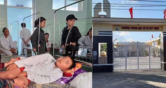 Học sinh bị cô giáo bắt các bạn tát (cùng một tát của cô) 231 cái khiến phải nhập viện.