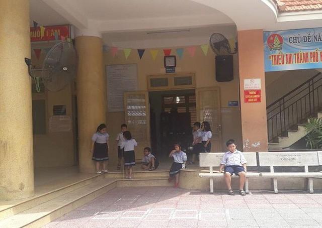 Học sinh Trường tiểu học Trần Văn Ơn, Tân Bình, TPHCM.