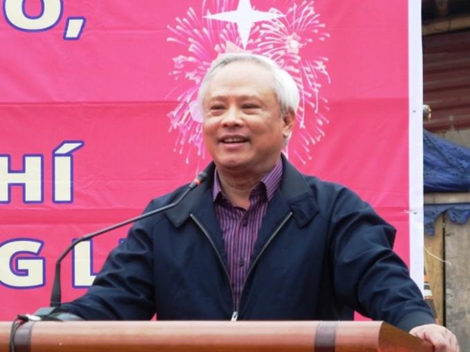 Phó Chủ tịch Quốc hội Uông Chu Lưu phát biểu tại buổi lễ.