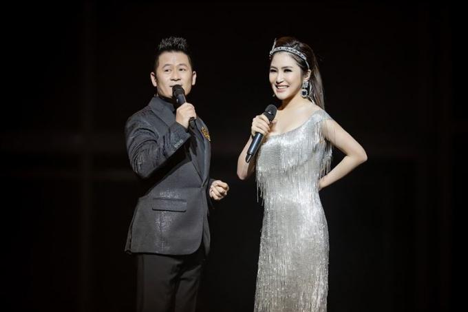 Bằng Kiều và Hương Tràm hát rất tình tứ